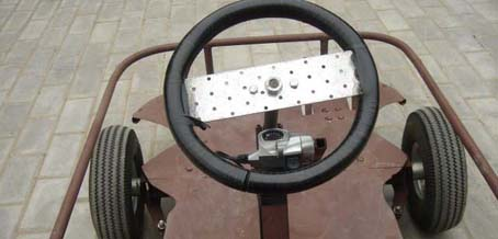 Машина из дерева с педалями